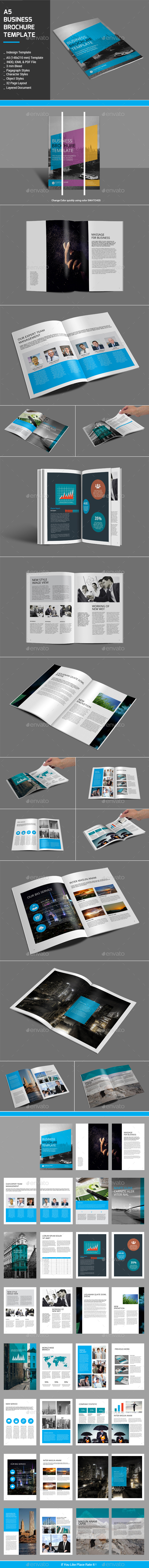 A5 Business Brochure Templates