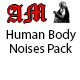 Human Body Noises Pack