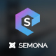 Semona - Business Joomla Template Nulled