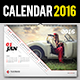 Wall Calendar Design 2016 - GraphicRiver Item for Sale