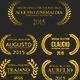 Set of Film Award Laurel Wreaths - GraphicRiver Item for Sale