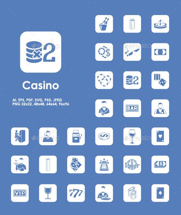 36 Casino icons - Icons