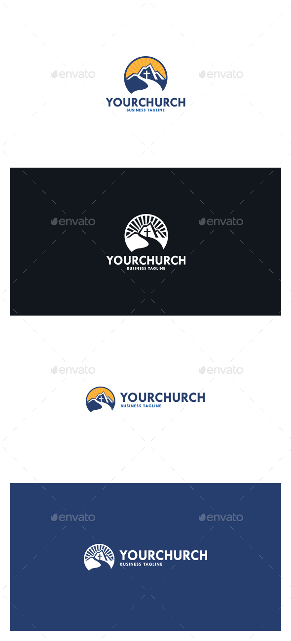 Your Church Logo - Symbols Logo Templates