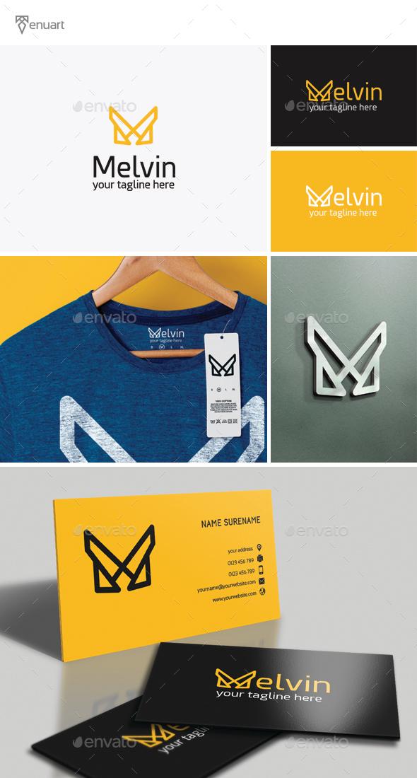 Melvin Letter M Logo