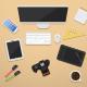 Designers Desk Scene - GraphicRiver Item for Sale