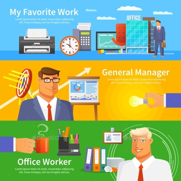 Office Banner Set - Concepts Business
