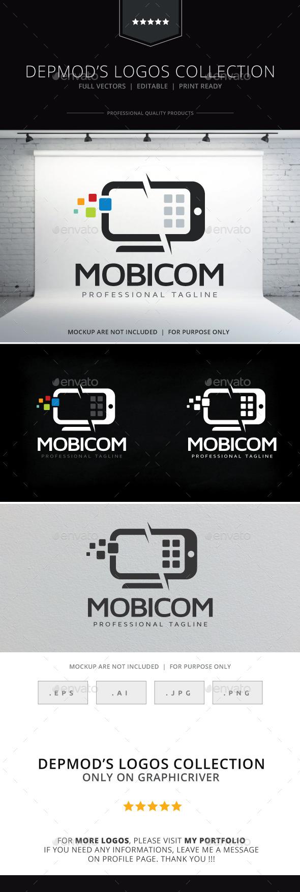 Mobicom Logo - Objects Logo Templates