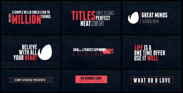 15 Minimal Titles