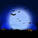 Halloween Spooky Landscape - GraphicRiver Item for Sale