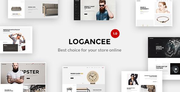 Logancee – Mutilpurpose eCommerce PSD Template