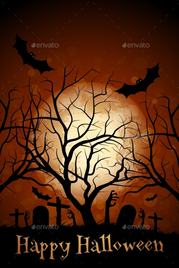 Halloween Zombie Party Poster - Halloween Seasons/Holidays