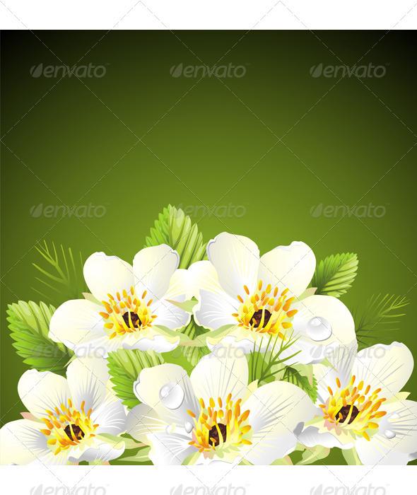 Flower design - Backgrounds Decorative