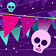 4 Halloween Party Backgrounds - GraphicRiver Item for Sale
