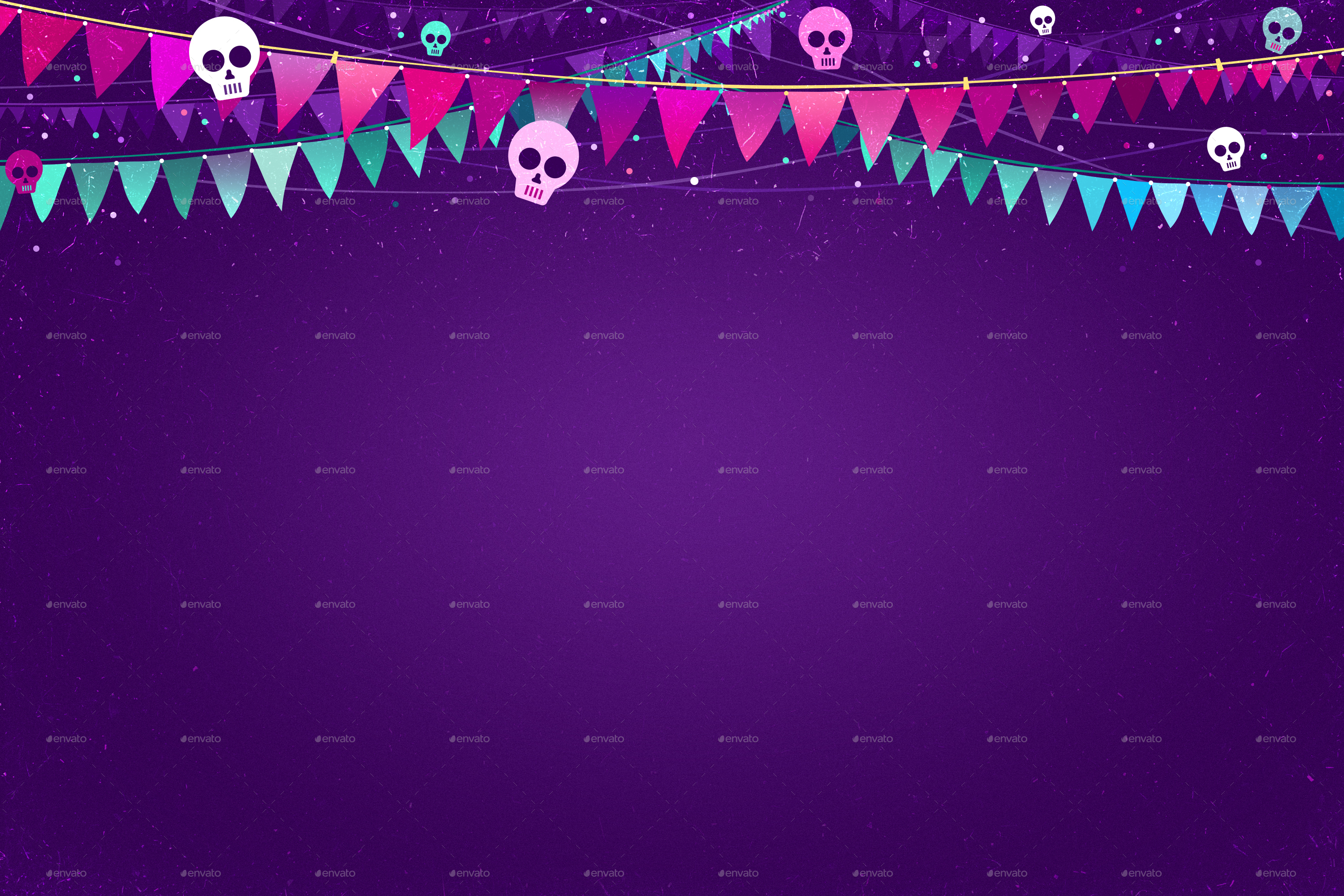 4 Halloween Party Backgrounds by MApictures | GraphicRiver