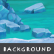 Ice Cave - Game Background - GraphicRiver Item for Sale