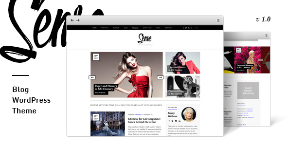 Sense – Authority Blog WordPress Theme