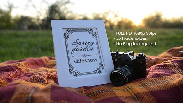 Spring Garden Slideshow