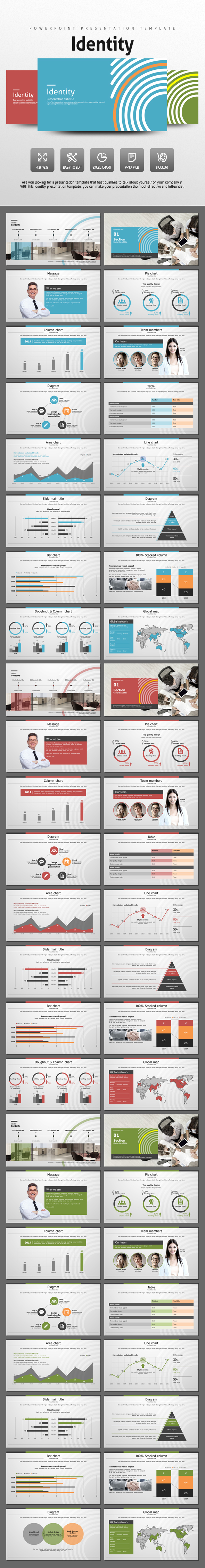 Identity - PowerPoint Templates Presentation Templates