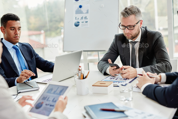 Gadgets in business - Stock Photo - Images
