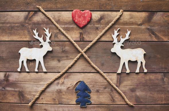 Toy symbols - Stock Photo - Images