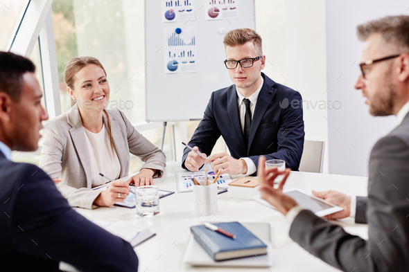Business meeting - Stock Photo - Images