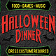 Halloween Dinner Party Flyer - GraphicRiver Item for Sale