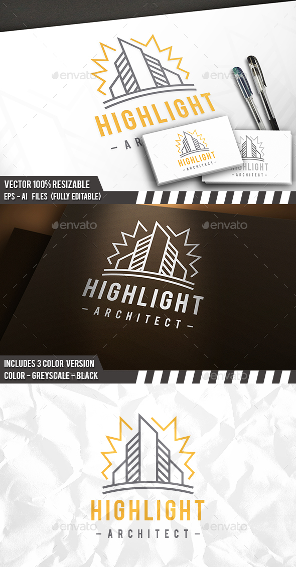 City Idea Logo - Buildings Logo Templates