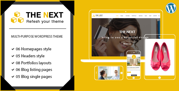 TheNext - Multi-Purpose Business WordPress Theme