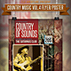 Country Music Flyer / Poster Vol.4 - GraphicRiver Item for Sale