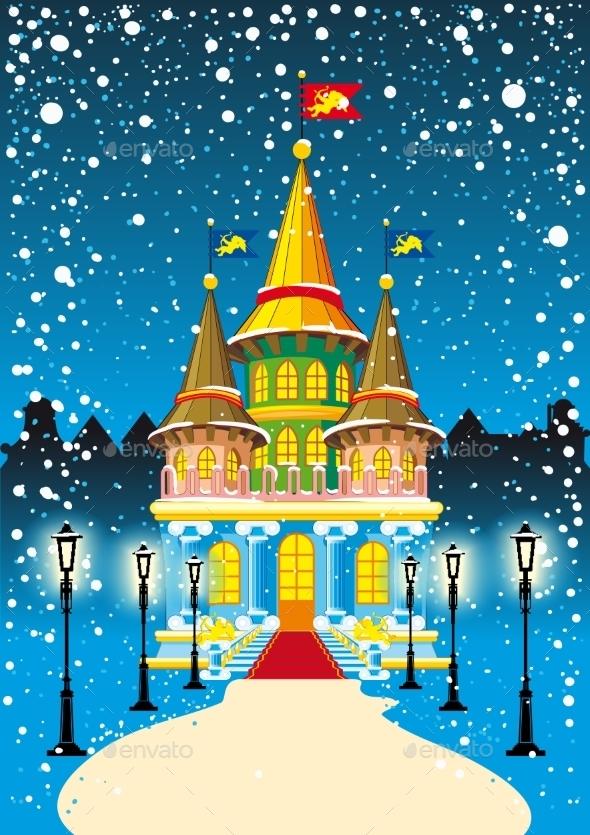 Fairy Princess Castle - Christmas Seasons/Holidays