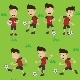 Soccer Football Player Character - GraphicRiver Item for Sale