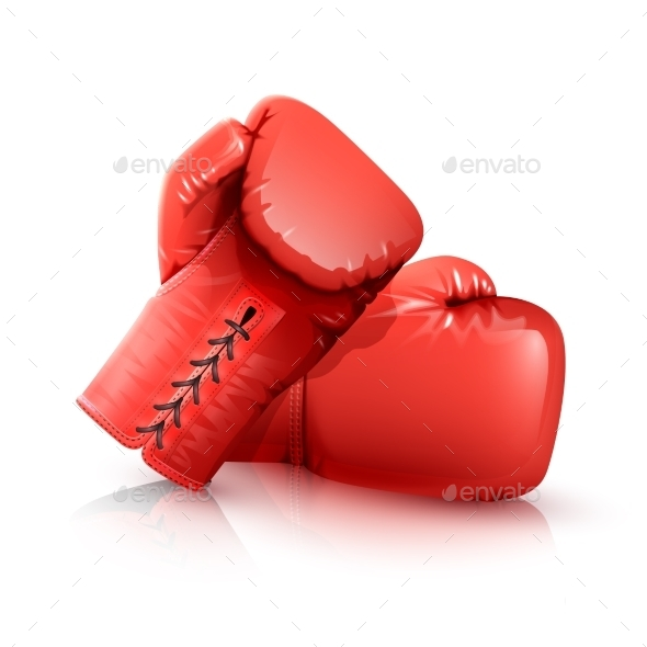 Boxing Gloves Realistic - Sports/Activity Conceptual