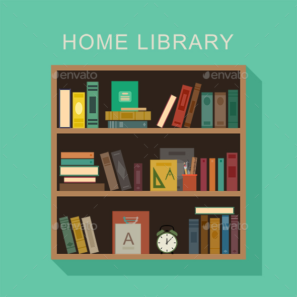 Home Library - Man-made Objects Objects