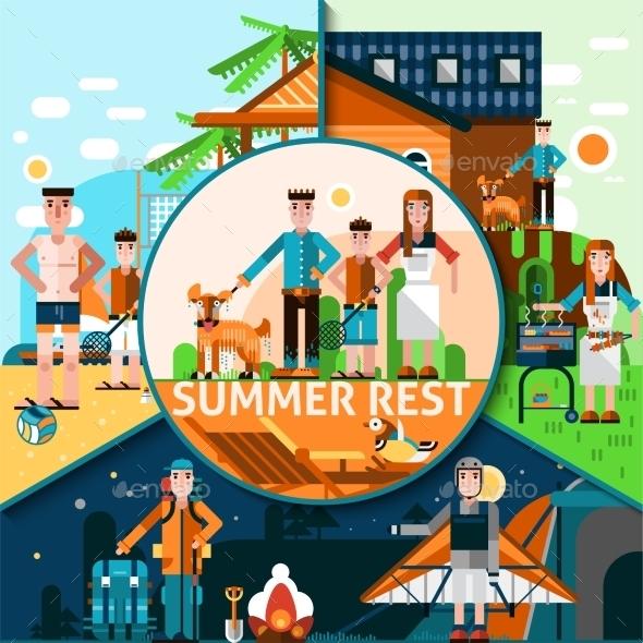 Summer Rest Concept