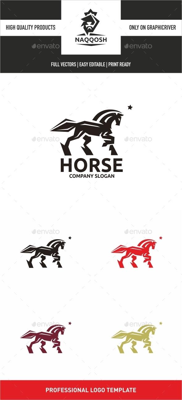Horse - Animals Logo Templates