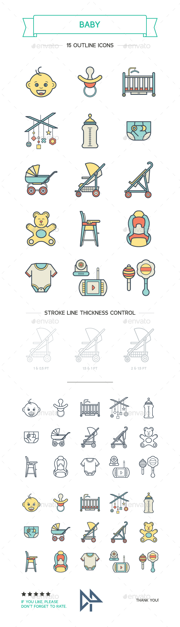 Baby Icons - Objects Icons