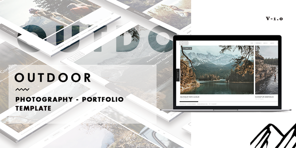 Outdoor –   Photography / Portfolio Template