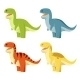 Set Of T-rex - GraphicRiver Item for Sale