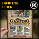 Camping Adventure Flyer / Magazine Ads - GraphicRiver Item for Sale