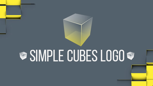 Simple Cubes Logo