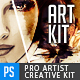 Pro Artist Creation Kit Template - Creative Mask FX