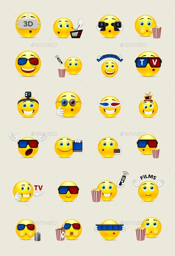 Cinema Smilies
