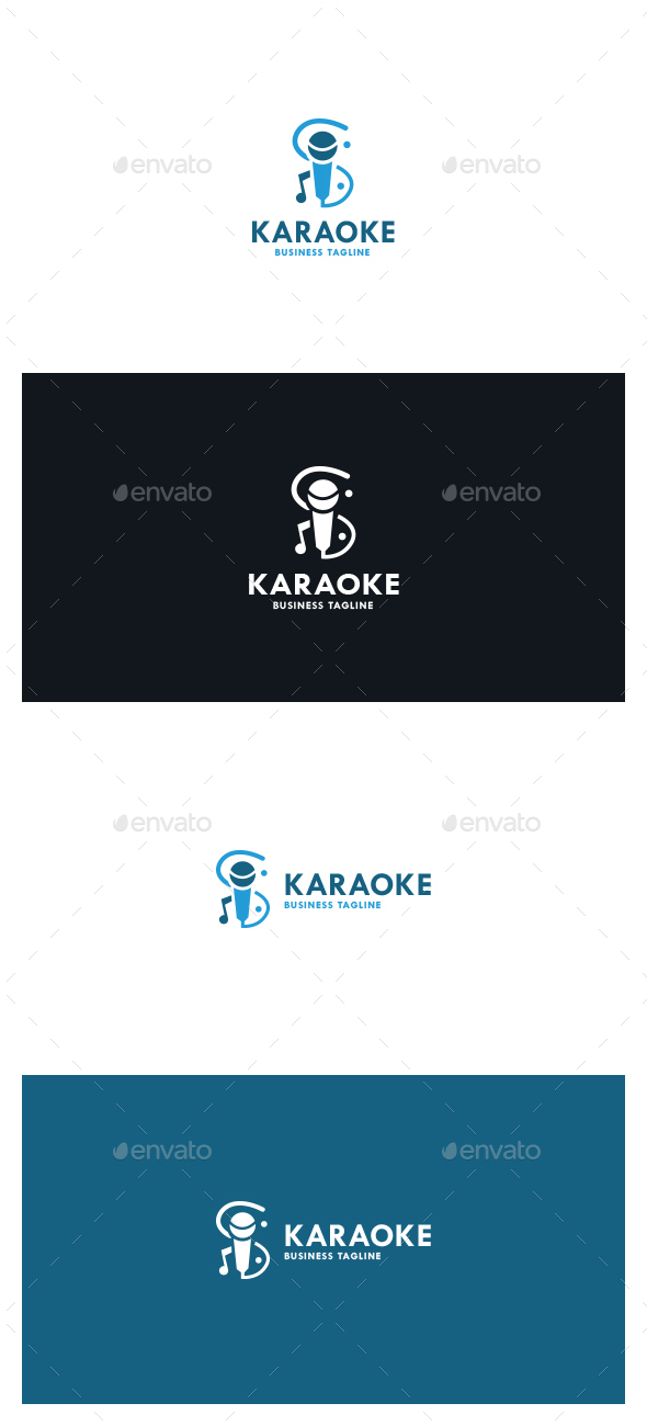 Karaoke Logo - Symbols Logo Templates
