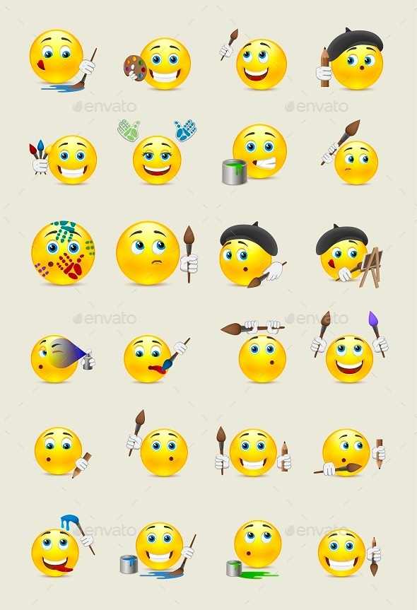 Smilies Artists - Miscellaneous Characters