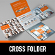Business Cross Folder - GraphicRiver Item for Sale