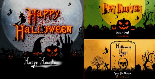 Halloween Vintage Openers