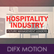 Hospitality Industry TV Spot - VideoHive Item for Sale