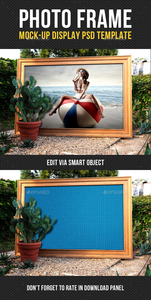 Photo Frame Mock-Up V03 - Miscellaneous Print