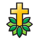 Green Church Logo - GraphicRiver Item for Sale