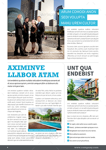 Company Newsletter By Mrtemplater | Graphicriver